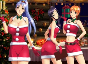 Rating: Questionable Score: 12 Tags: christmas cleavage harii User: blooregardo