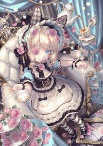 Rating: Safe Score: 11 Tags: animal_ears bunny_ears lolita_fashion yumeichigo_alice User: Mr_GT