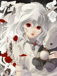 Rating: Safe Score: 34 Tags: akabane_kuroudo alice_in_wonderland amano_ginji blood cosplay get_backers lolita_fashion makube-hakase mido_ban papillon10 User: charunetra