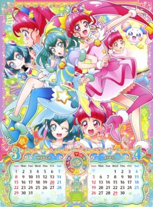 Rating: Questionable Score: 10 Tags: calendar dress hagoromo_lala heels hoshina_hikaru star_twinkle_precure tagme thighhighs User: drop