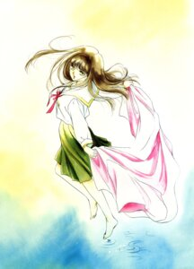Rating: Safe Score: 6 Tags: kakinouchi_narumi vampire_princess_miyu watercolor yui_(miyu) User: Radioactive
