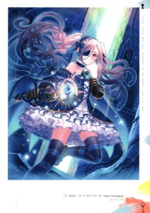 Rating: Questionable Score: 15 Tags: gothic_lolita hanekoto lolita_fashion tagme thighhighs User: Radioactive