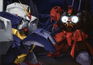 Rating: Safe Score: 5 Tags: gundam gundam_mark_ii mecha rick_dias zeta_gundam User: Radioactive