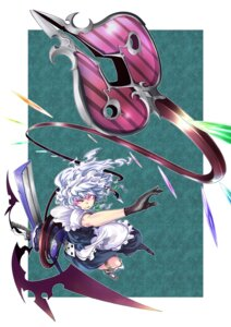Rating: Safe Score: 4 Tags: izayoi_sakuya kage_houshi touhou User: Mr_GT