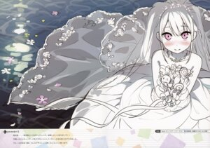 Rating: Safe Score: 29 Tags: dress kantoku shizuku_(kantoku) sketch wedding_dress User: Hatsukoi