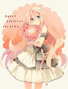 Rating: Safe Score: 22 Tags: dress megurine_luka temari_(artist) vocaloid User: charunetra