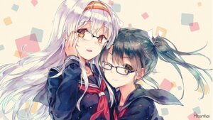 Rating: Safe Score: 144 Tags: hiten hitenkei jpeg_artifacts kantai_collection megane seifuku shoukaku_(kancolle) zuikaku_(kancolle) User: Mr_GT