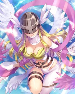 Rating: Questionable Score: 83 Tags: angewoman cleavage digimon_adventure kobanzame wings User: fairyren