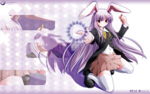 Rating: Safe Score: 15 Tags: reisen_udongein_inaba side_b thighhighs touhou wallpaper User: Shamensyth