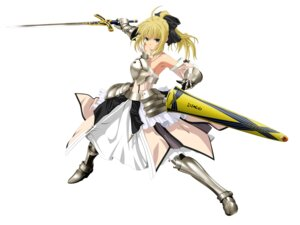Rating: Safe Score: 50 Tags: fate/stay_night fate/unlimited_codes jpeg_artifacts saber saber_lily tagme User: Radioactive