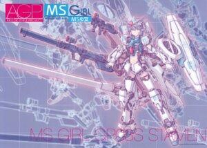 Rating: Safe Score: 11 Tags: crease gundam gundam_0083 katoki_hajime mecha mecha_musume User: Rid