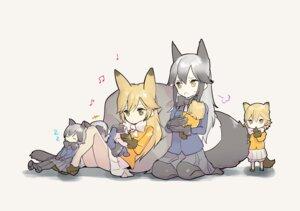 Rating: Safe Score: 35 Tags: animal_ears ezo_red_fox kemono_friends omucchan_(omutyuan) pantyhose silver_fox tail User: Mr_GT