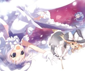 Rating: Safe Score: 13 Tags: cirno kirisame_marisa letty_whiterock moriki_takeshi thighhighs touhou User: Share