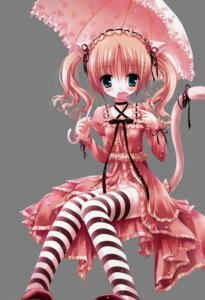 Rating: Questionable Score: 35 Tags: animal_ears bell lolita_fashion nekomimi pantsu thighhighs tinkle transparent_png User: admin2