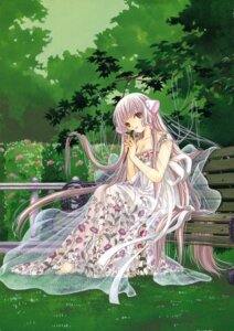 Rating: Safe Score: 25 Tags: chii chobits clamp cleavage dress User: Share