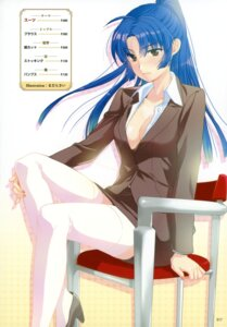 Rating: Questionable Score: 34 Tags: business_suit cleavage madara_sai no_bra thighhighs User: crim