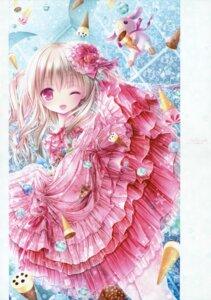 Rating: Safe Score: 42 Tags: dress fishnets lolita_fashion pantsu pantyhose see_through tinkle User: kaguya940385