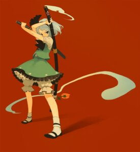 Rating: Safe Score: 5 Tags: iwamoto_james konpaku_youmu touhou User: Radioactive
