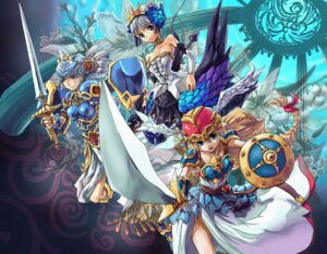Rating: Safe Score: 9 Tags: gwendolyn lenneth matsumoto_eight odin_sphere valkyrie_profile User: Radioactive