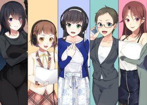 Rating: Safe Score: 7 Tags: breast_hold business_suit clockup dress ero_voice!_h_na_voice_de_icha_love_success headphones kashima_mashino megane satoyuki seifuku uzi_(artist) User: moonian