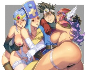 Rating: Questionable Score: 44 Tags: armor ass bottomless dragon_quest dragon_quest_iii garter_belt homare lingerie nipples no_bra pantsu priest_(dq3) sage_(dq3) soldier_(dq3) stockings thighhighs thong topless User: Mr_GT
