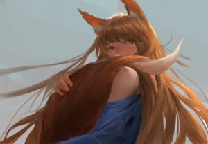Rating: Safe Score: 25 Tags: animal_ears holo lanlanlu spice_and_wolf tail User: Spidey