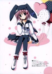 Rating: Safe Score: 36 Tags: animal_ears bunny_ears hinamori_amu korie_riko mujin_shoujo neko shugo_chara thighhighs User: midzki