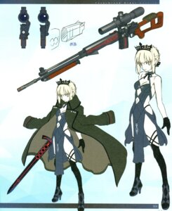 Rating: Questionable Score: 6 Tags: fate/grand_order saber saber_alter type-moon User: Radioactive