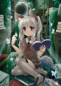 Rating: Safe Score: 31 Tags: animal_ears hyouta_(nekogamirin_c) tail thighhighs User: Mr_GT