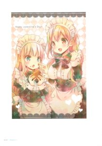 Rating: Safe Score: 22 Tags: hinako_note maid mitsuki_(mangaka) valentine User: fireattack
