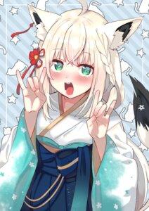 Rating: Safe Score: 18 Tags: animal_ears hololive japanese_clothes shirakami_fubuki tagme tail tonari_no_kai_keruberosu User: Mr_GT