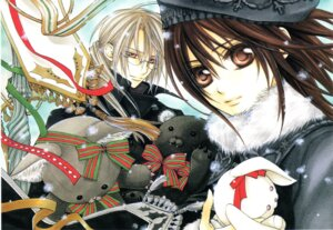 Rating: Safe Score: 8 Tags: cross_yuuki hino_matsuri kaien_cross vampire_knight User: Radioactive