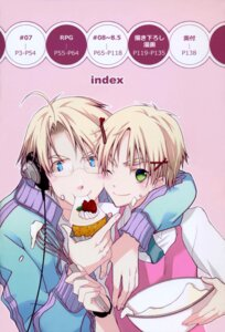 Rating: Safe Score: 4 Tags: america headphones hetalia_axis_powers male megane united_kingdom User: charunetra