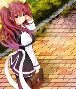 Rating: Safe Score: 44 Tags: pantyhose rakudai_kishi_no_cavalry seifuku stella_vermillion User: kiyoe