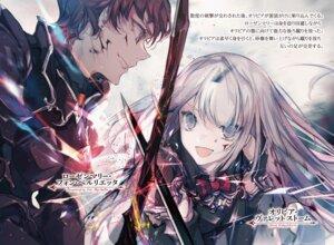 Rating: Safe Score: 9 Tags: armor blood cierra_(artist) shinigami_ni_sodaterareta_shoujo_wa_shikkoku_no_ken_wo_mune_ni_idaku sword tagme User: kiyoe