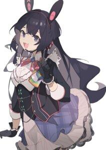 Rating: Questionable Score: 21 Tags: animal_ears bunny_ears kkj25 nijisanji skirt_lift tsukino_mito User: Dreista