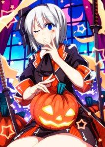 Rating: Safe Score: 12 Tags: halloween konpaku_youmu myon sazanami_mio sword tattoo touhou User: Mr_GT