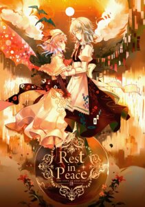Rating: Safe Score: 21 Tags: heels izayoi_sakuya kirero maid remilia_scarlet touhou User: dyj