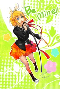 Rating: Safe Score: 6 Tags: kagamine_rin ku_nen vocaloid User: charunetra