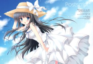 Rating: Questionable Score: 20 Tags: cascade dress hasekura_chiaki summer_dress User: Radioactive