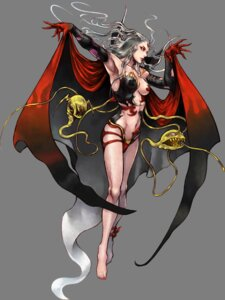 Rating: Questionable Score: 26 Tags: cloud_of_darkness devil dissidia_final_fantasy final_fantasy final_fantasy_iii leotard nomura_tetsuya square_enix tentacles transparent_png underboob User: Lua