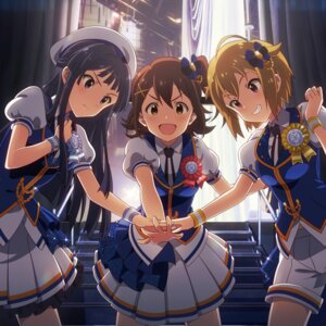 Rating: Safe Score: 26 Tags: digital_version disc_cover ibuki_tsubasa kasuga_mirai mogami_shizuka the_idolm@ster the_idolm@ster_million_live! User: Anonymous