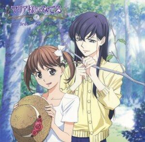 Rating: Safe Score: 9 Tags: disc_cover dress fukuzawa_yumi maria-sama_ga_miteru ogasawara_sachiko summer_dress User: Anonymous