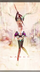 Rating: Safe Score: 18 Tags: enc/ddd hatsune_miku thighhighs vocaloid vocaloid_append User: Zenex