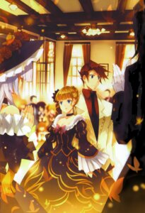 Rating: Safe Score: 10 Tags: beatrice dress screening suzushiro_kurumi umineko_no_naku_koro_ni ushiromiya_battler User: charunetra