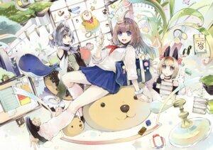 Rating: Safe Score: 27 Tags: animal_ears bunny_ears fujishima kitsune seifuku User: Twinsenzw