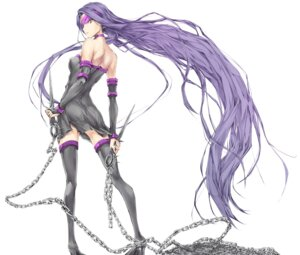 Rating: Safe Score: 60 Tags: dress fate/stay_night heels kizuki_aruchu rider thighhighs udon-ya weapon User: Arkheion