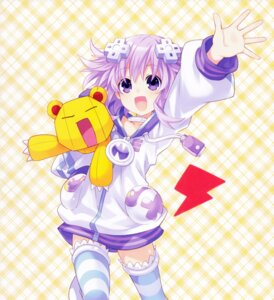 Rating: Safe Score: 28 Tags: choujigen_game_neptune neptune thighhighs tsunako User: Nepcoheart