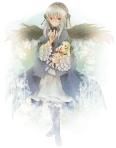 Rating: Safe Score: 6 Tags: lolita_fashion michii_yuuki rozen_maiden suigintou User: Radioactive