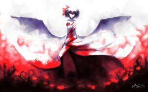 Rating: Safe Score: 23 Tags: dress remilia_scarlet tan_(artist) touhou wings User: charunetra